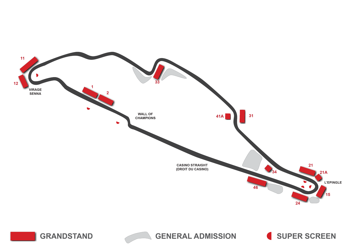 Circuit Of The Americas Grandstand Seating Chart