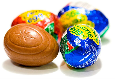 image - Cadbury chocolate eggs