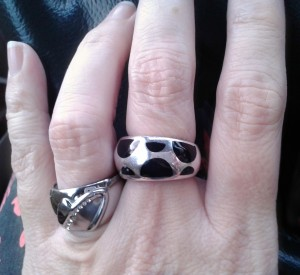 Stainless and Sterling Silver Rings