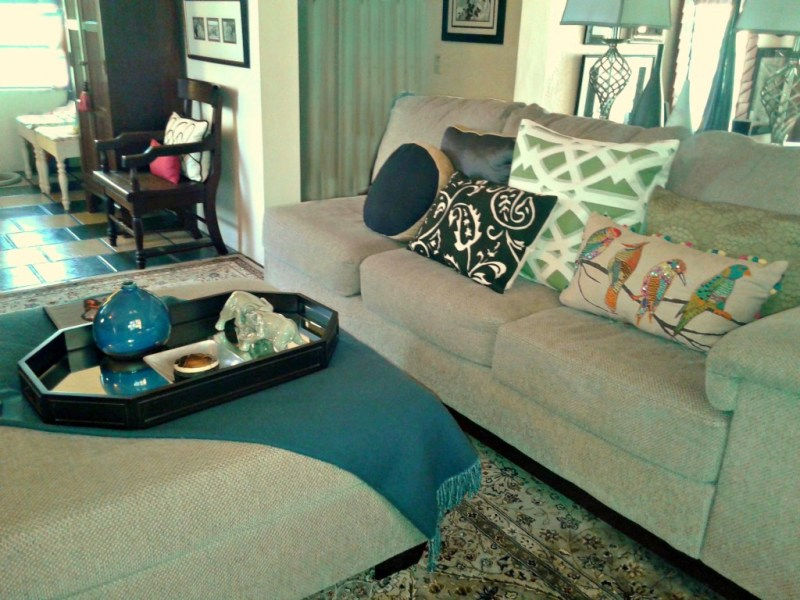 Pillows Add Pop To A Room