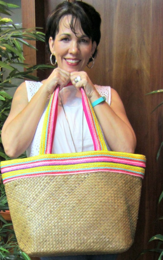 Fun Summer Finds Linkup #1, straw bag