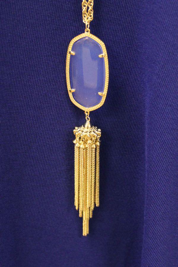 Make A Color Statement - Kendra Scott pendant necklace