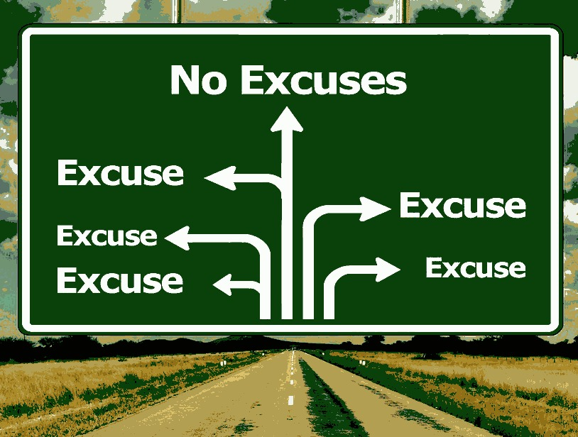 Road Sign to Excuses
