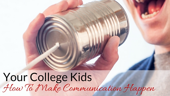 Your College - How To Make Communication Happen