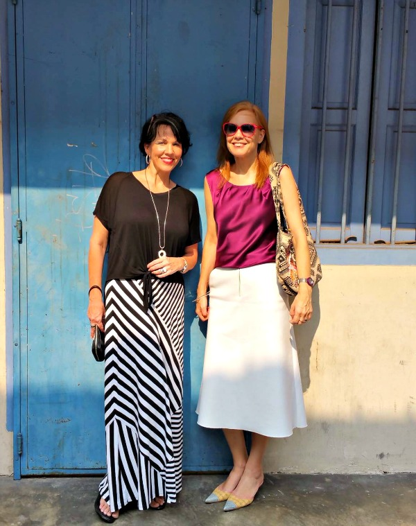 Shellie and Sylvia from 40+ Style