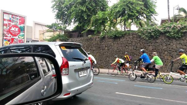 Sunday Cycling In Manila