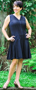 Vintage Inspired Little Black Dress