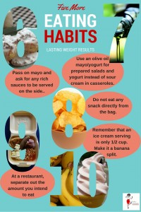 Five More Eating Habits For Lasting Weight Results - Pin