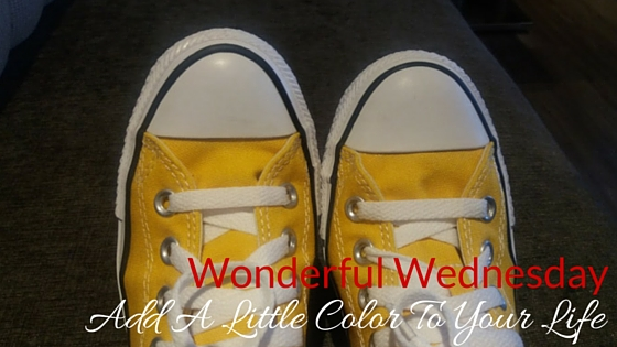 Add A Little Color To Your Life - Wonderful Wednesday