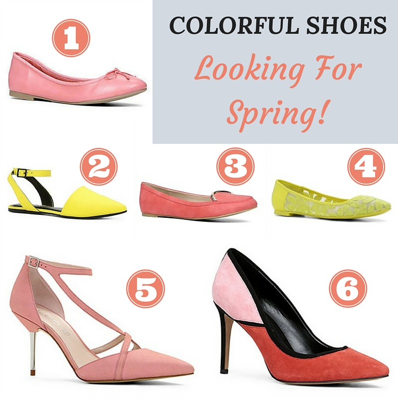 Colorful Shoes - Thursday Favorite Things