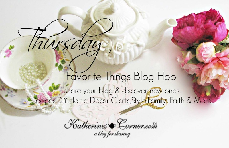 thursday favorite things blog hop image 2016