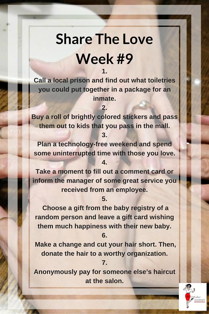 Girlfriend Time, Wonderful Wednesday, Share The Love #9