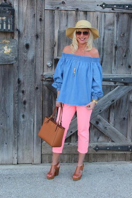 Andrea - Bright Pants