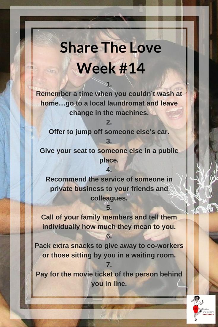 Share The Love, Week #14