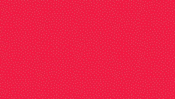 metallic spot print on red background fabric