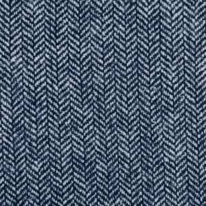 Navy Herringbone Tweed