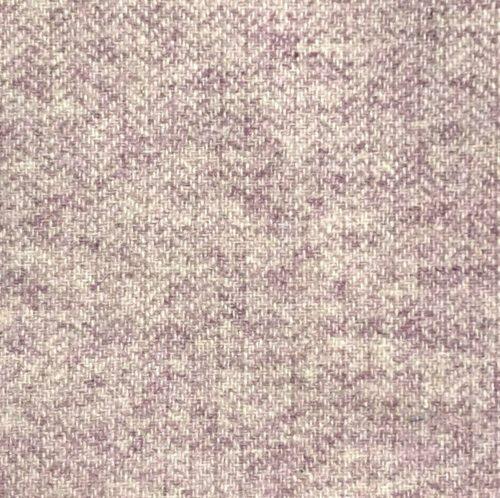 Pink Herringbone Tweed