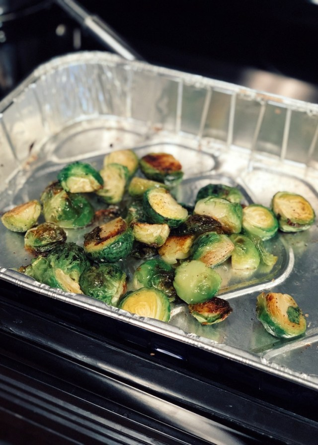 Roast Brussels Sprouts Balsamic Agave Dressing