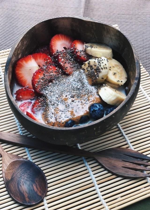 vegan breakfast power bowl