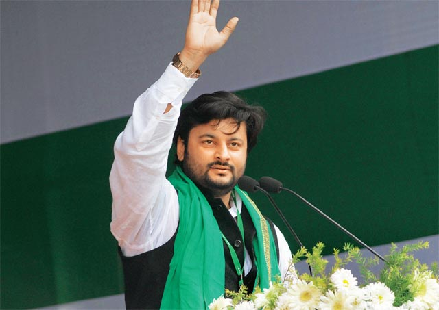 BJD MP Anubhav gets extortion message on WhatsApp