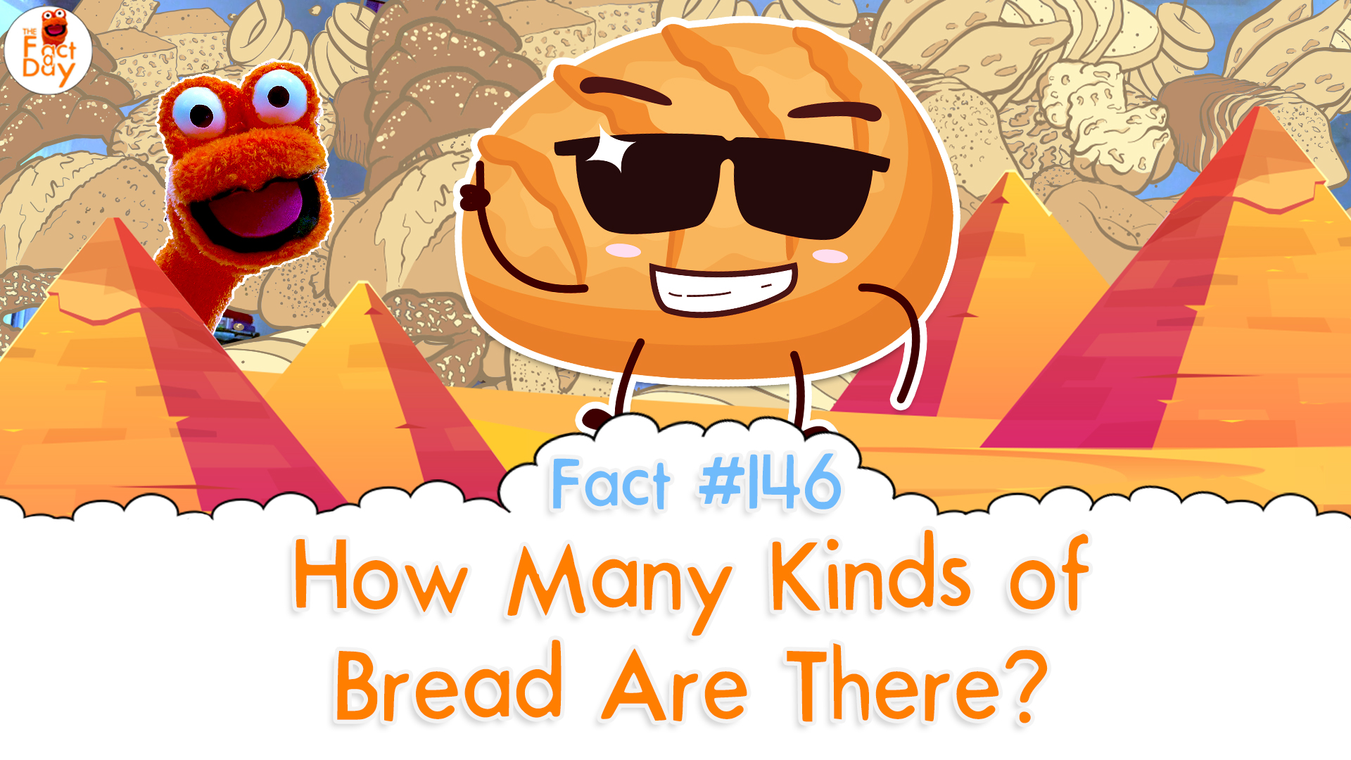 The Fact a Day - How many types of bread are there