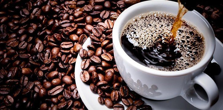 Coffee is filled with antioxidants.