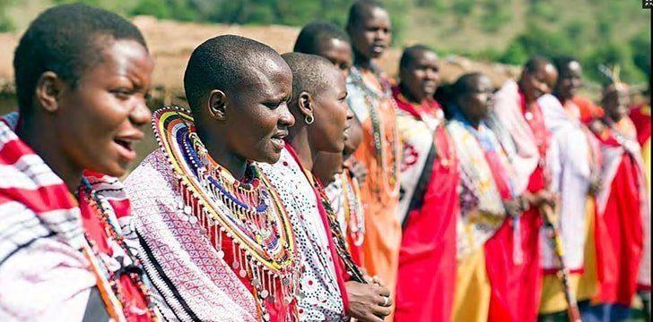 Kenya is home to the Maasai people.