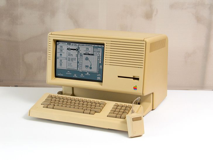 The Apple Lisa was the first commercial computer with a graphical user interface (GUI) and a mouse.