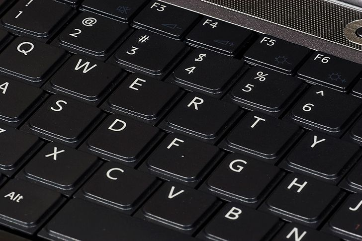 The QWERTY keyboard is supposed to slow you down.