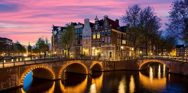 Amsterdam has more canals than Venice and more bridges than Paris!