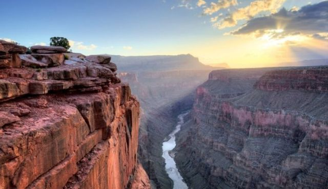 The Grand Canyon in Arizona is not the deepest canyon in the world