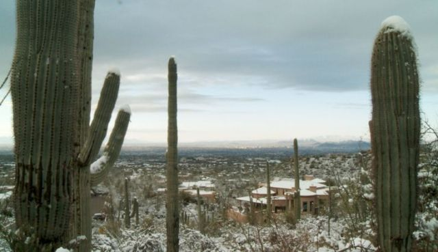 Arizona experiences extreme changes in between seasons