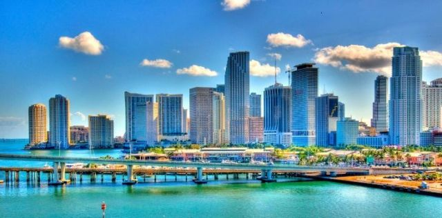Skyline of Miami Dade