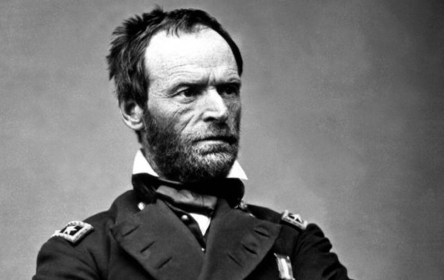 William Sherman in uniform