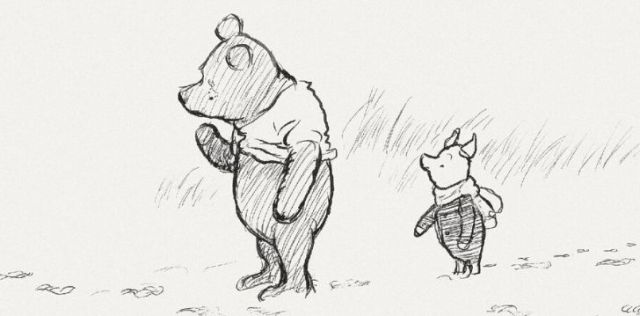 Winnie the Pooh original illustrations