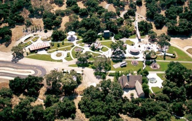 Michael Jackson's Neverland grounds