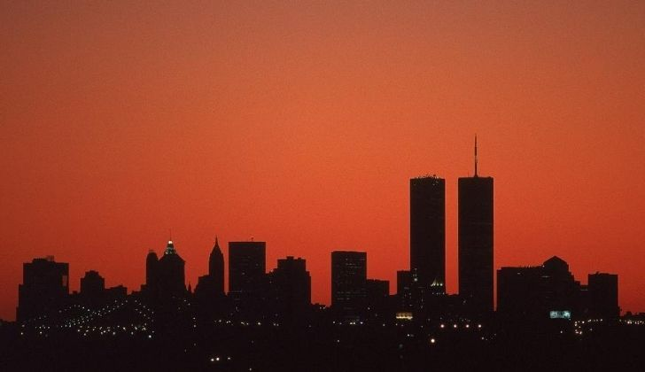 The Twin Towers cost $900 million USD to construct