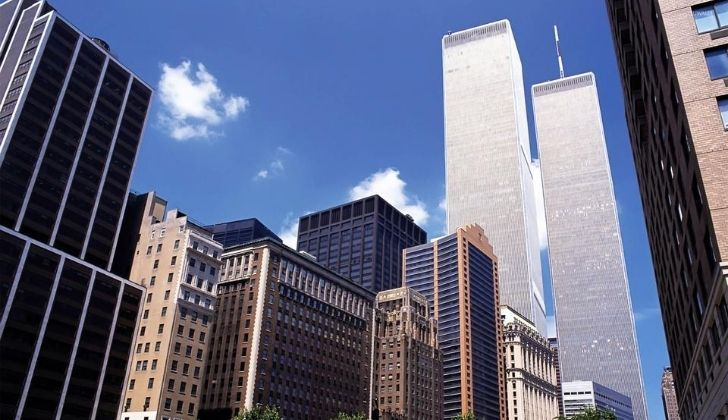 The Twin Towers were the tallest buildings in the world when they were built