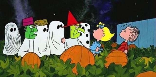 Ghosts in Charlie Brown