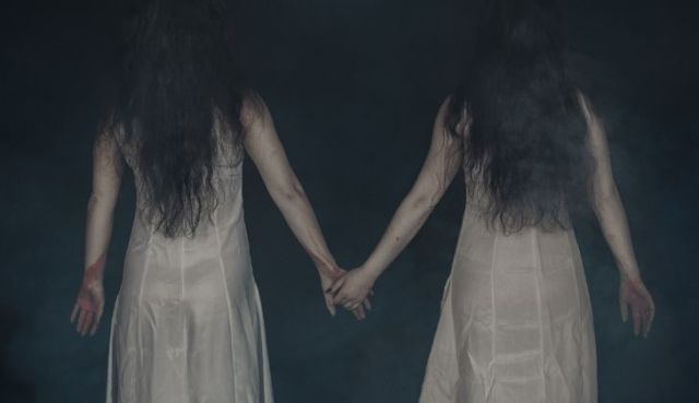 Two girl ghosts