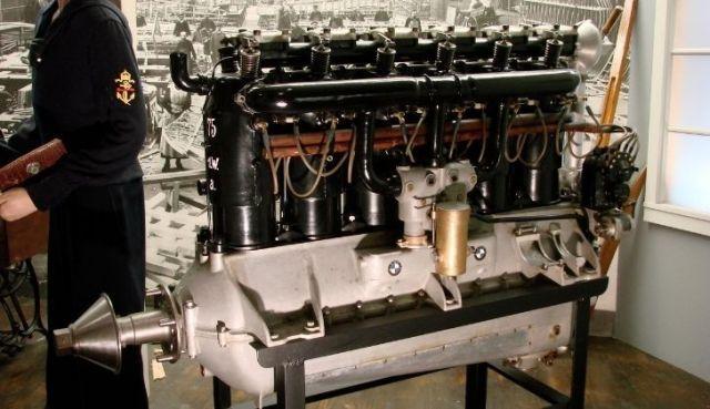 BMW IIIa aircraft engine