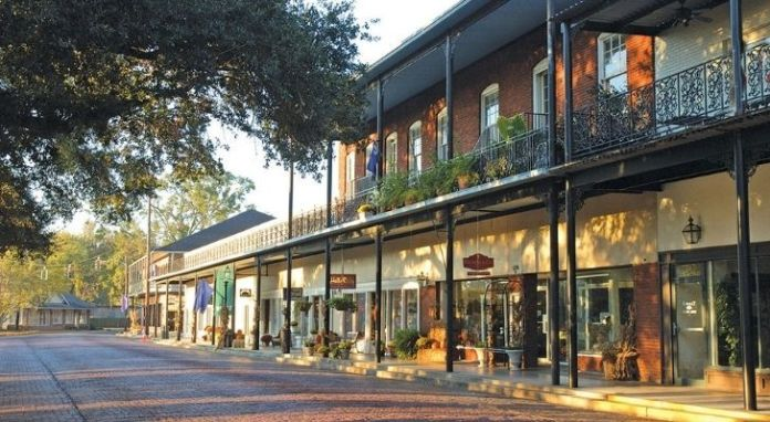 The old town of Natchitoches