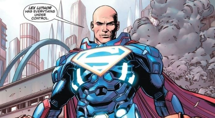 Lex Luthor is Superman's arch-enemy