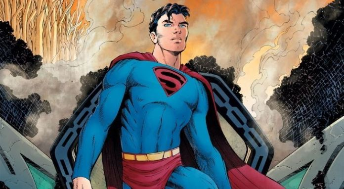 Superman is very tall