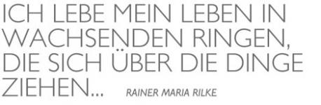 Zitate Rilke Zitate Spruche