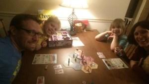 The Family Gamers playing Takenoko