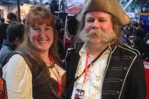 Jill and Brian Bollinger of Wild East Games