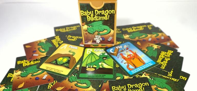 Baby Dragon Bedtime