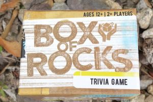 Box of Rocks trivia game