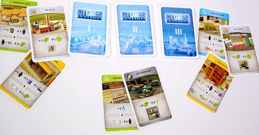 Cities Skylines cards